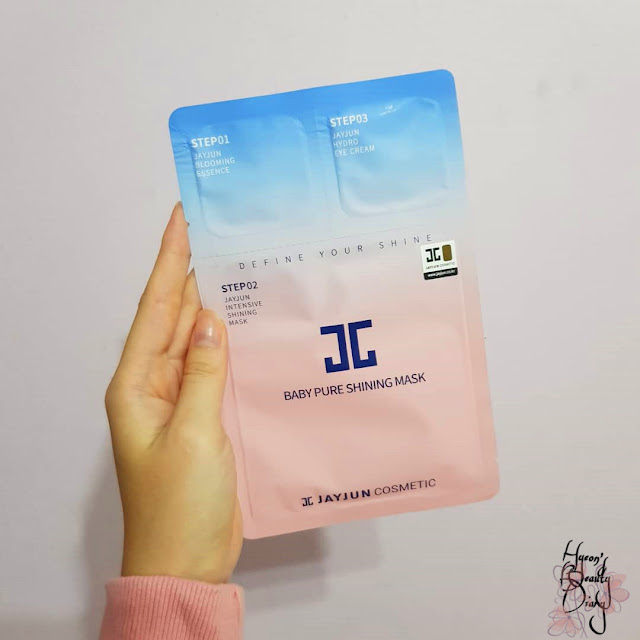 Review; Jayjun Cosmetic's Baby Pure Shining Mask