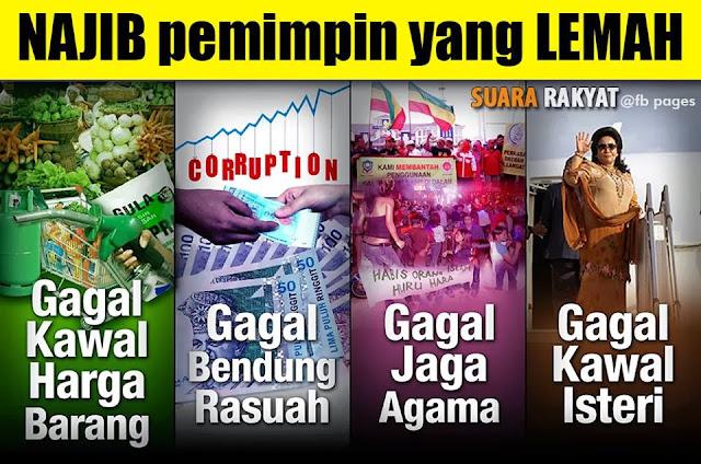 Image result for Gambar Najib curi duit rakyat