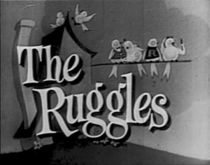 The Ruggles (1949) - Early U.S. sitcom presents one of the first Christmas episodes of a regular TV series.