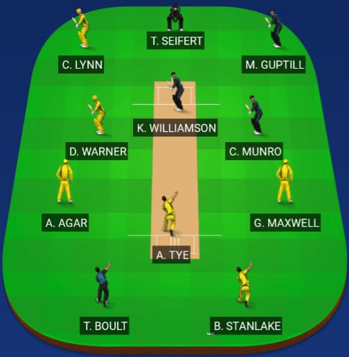 New Zealand vs Australia Dream 11 Predictions