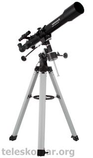 Celestron powerseeker 70eq teleskop incelemesi