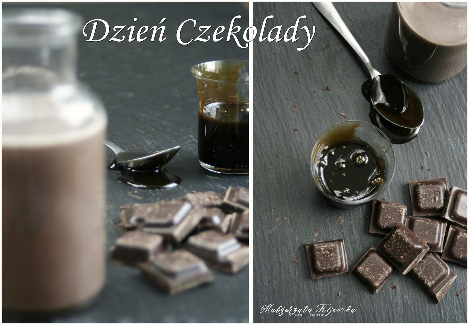 Dzień Czekolady, czekolada na gorąco, daylicooking, Małgorzata Kijowska