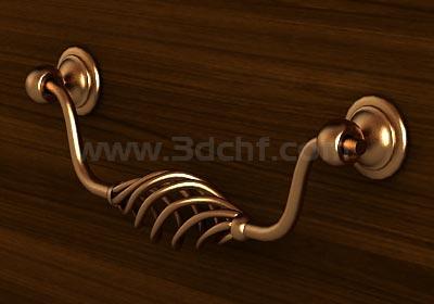 drawer puller 3d model free