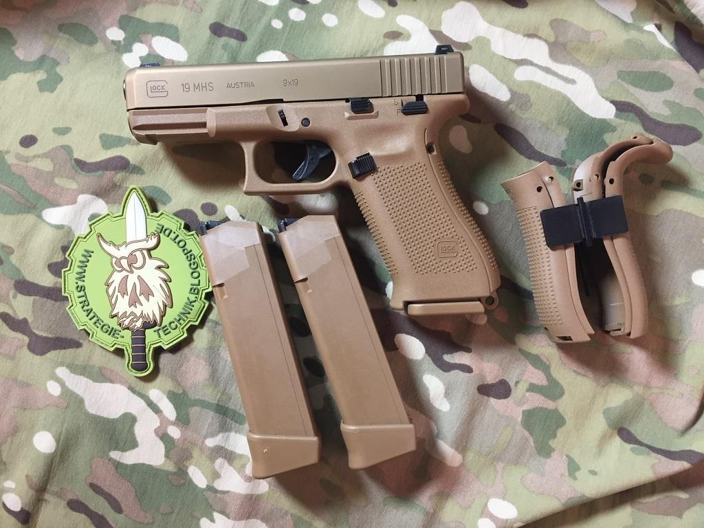 STRATEGIE & TECHNIK: Glock 19 MHS - systematische One-Gun-Solution