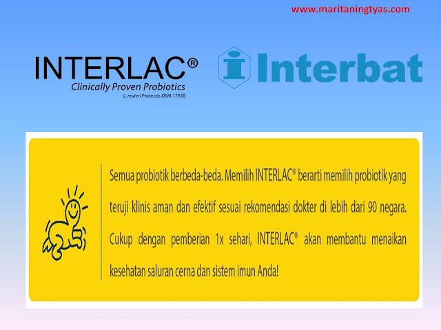 Interlac Probiotic Aman untuk Kesehatan Saluran Cerna