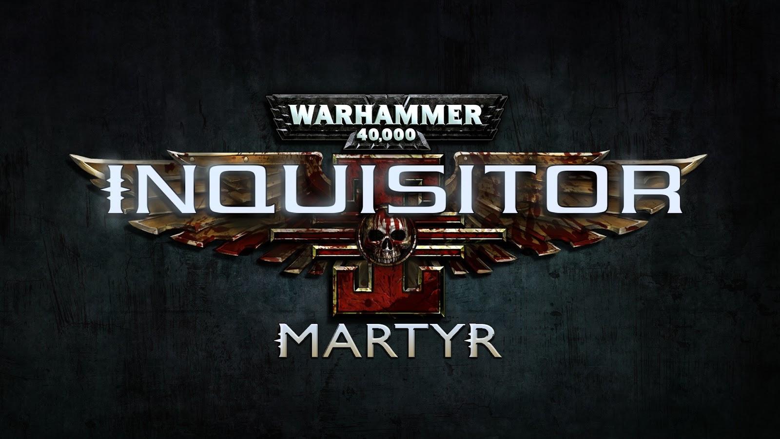 Warhammer 40 000 Inquisitor Martyr Xbox360 - Warhammer 40 000 Inquisitor Martyr For Xbox360