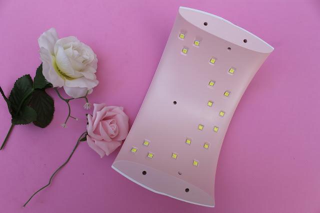 lampara de uñas UVLED SUN9xPlus