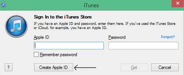 Create Apple ID for Free