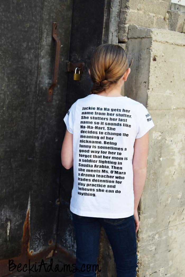Becki Adams Book Report Shirt