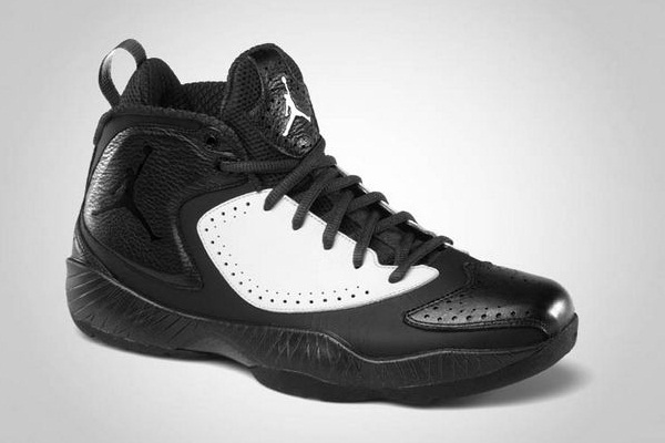 Air Jordan 2012 Black and White Deluxe