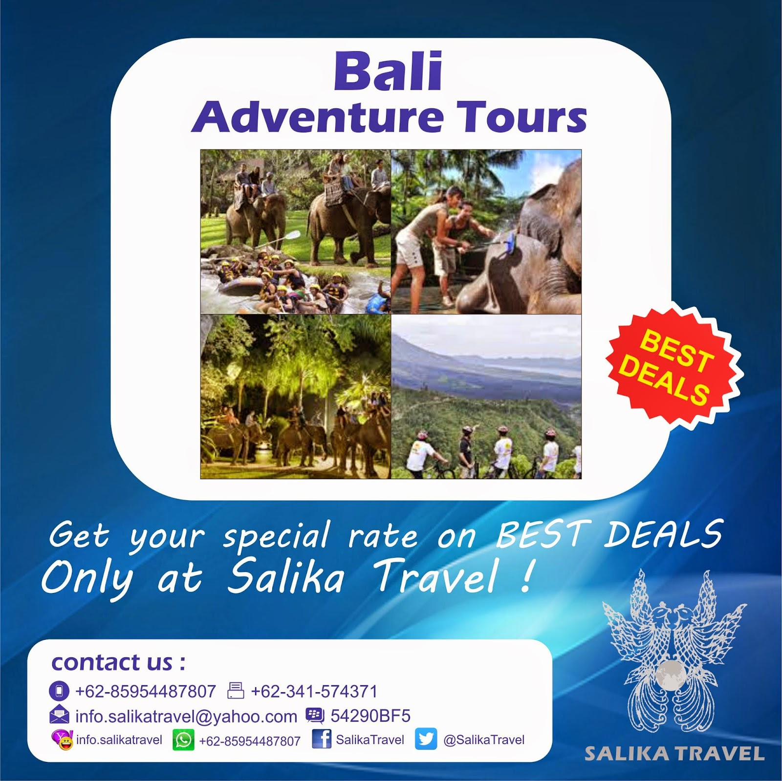 Bali Adventure Tours - Salika Travel