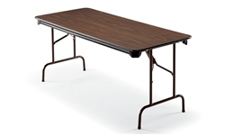 Walnut Folding Table at OfficeAnything.com