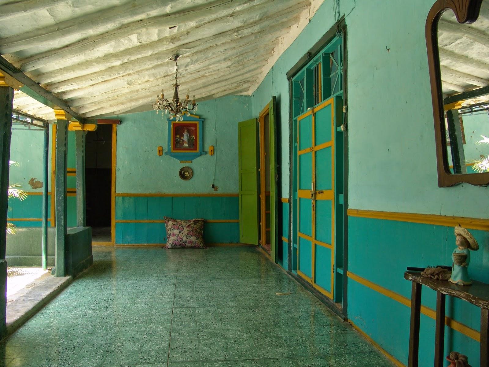 La casa verde de la vela la casa de los lovera centro - La casa de las velas ...