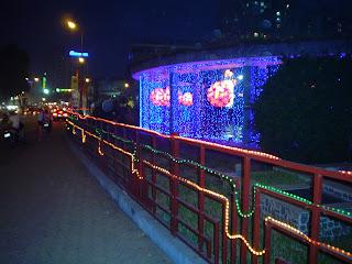 Hanoi Vietnam fotos de noche