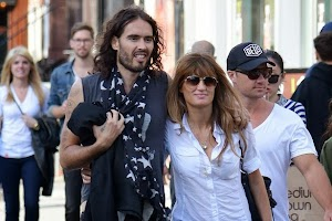 Russell Brand fell in love again