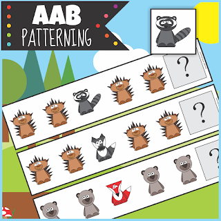https://www.teacherspayteachers.com/Product/Woodland-Animals-AAB-Patterning-Activity-3213556
