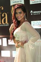 Prajna Actress in backless Cream Choli and transparent saree at IIFA Utsavam Awards 2017 0083.JPG