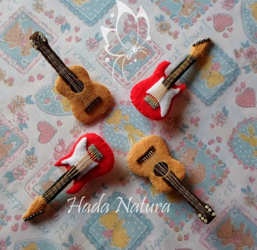 Guitarras de fieltro