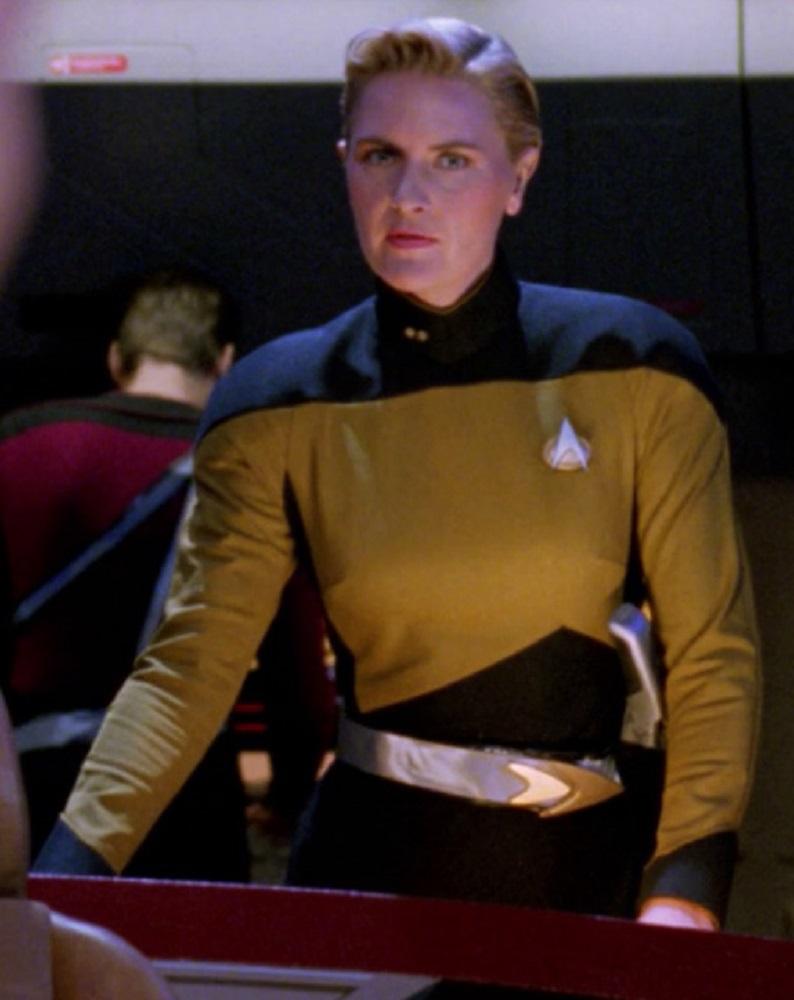 Uniform changes trek star star trek