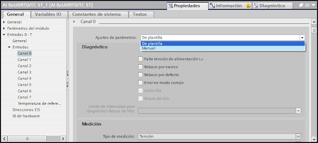Configurar una entrada analógica tia portal v14