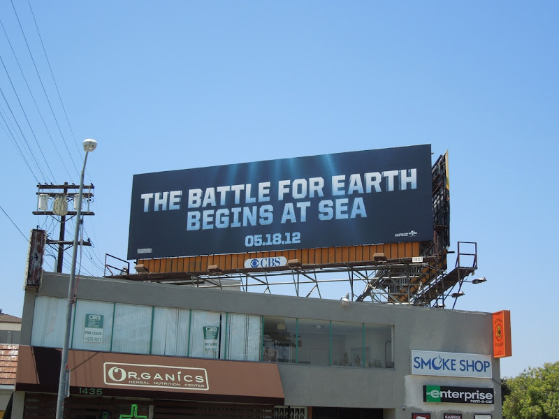Battleship billboard