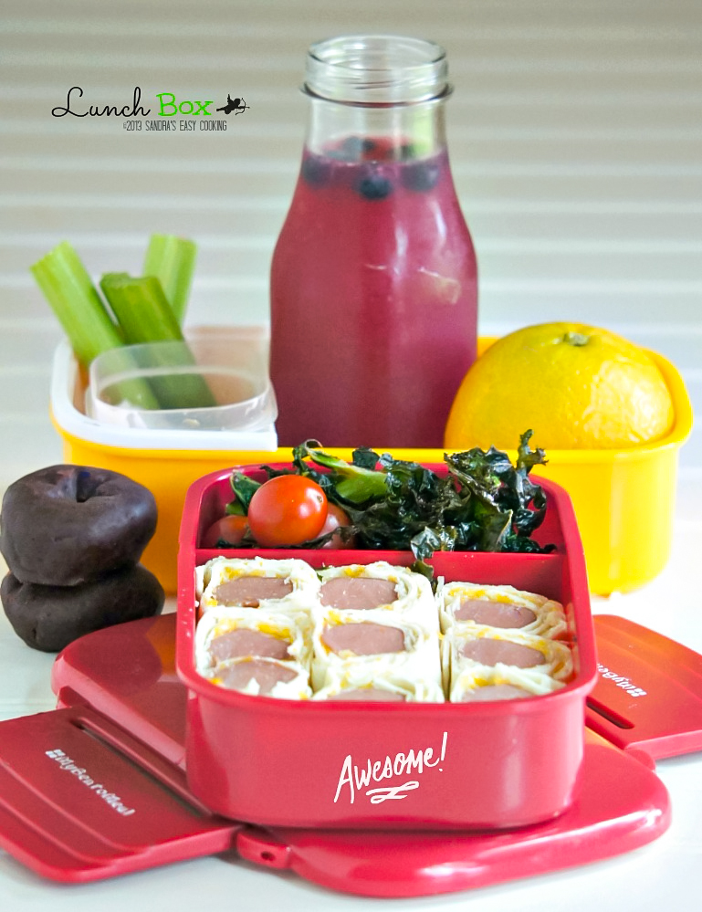 Delicious and easy bento box for school or lunch