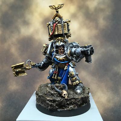 Grey Knights Librarian Comus Epinus