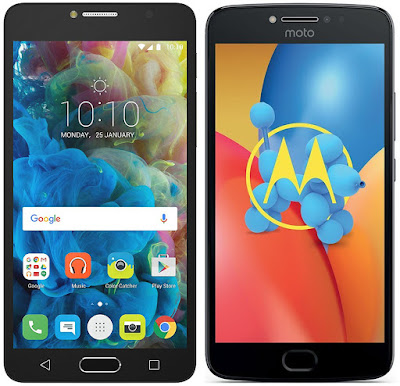 Alcatel Pop 4s vs Motorola Moto E4 Plus