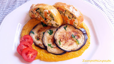 Strudel di verdure - Torta salata di verdure