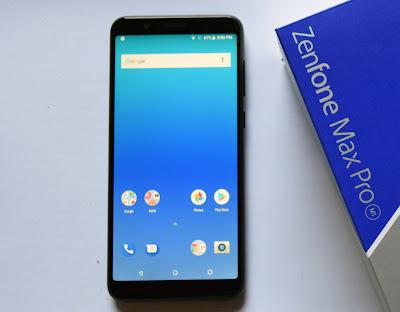 ASUS Zenfone Max Pro M1, Spesifikasi ASUS Zenfone Max Pro M1, Tampilan ASUS Zenfone Max Pro M1