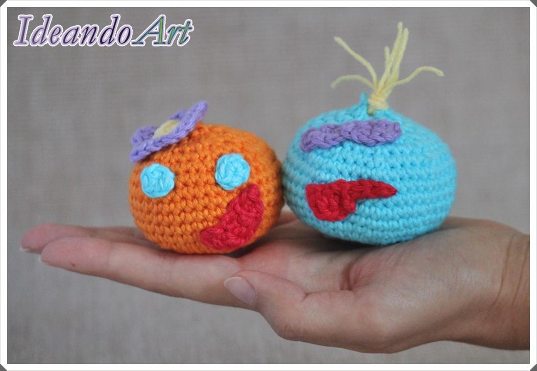 Cabezones amigurumi de crochet
