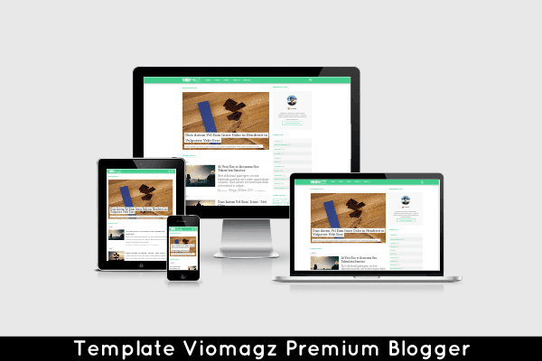 Template Viomagz Premium Responsive dan Seo Friendly