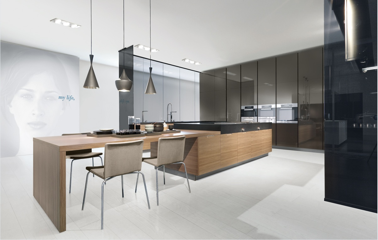 Maison grace varenna minimal kitchens for Cucina minimal