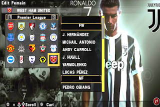 Textures PES Jogress V4.1.2 UCL Cr7