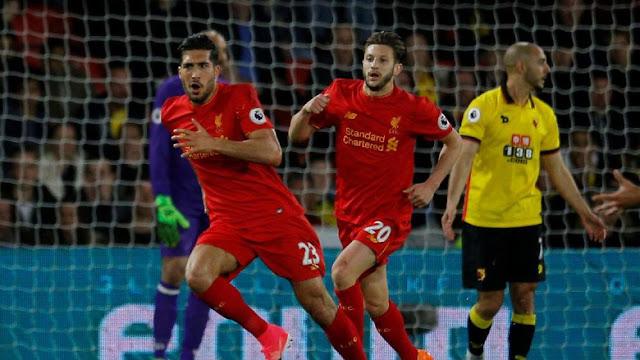 Liverpool Menang Tipis atas Watford Lewat Gol Indah Emre Can