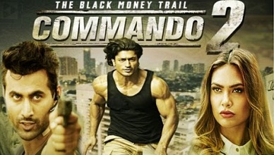Commando 2 Tamil Dubbed Movie Online
