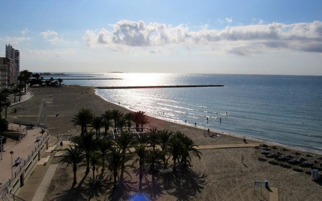Playas de Santa Pola, isla de Tabarca