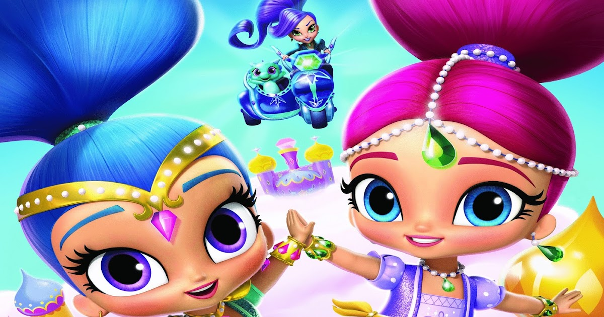 """NickALive!: """"Shimmer And Shine"""" Launches First Product ..."""