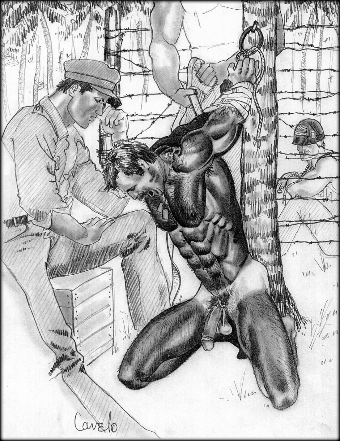 cartoon torture porn