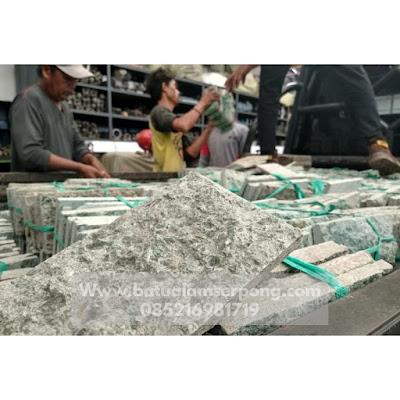 Pengiriman batu hijau sukabumi