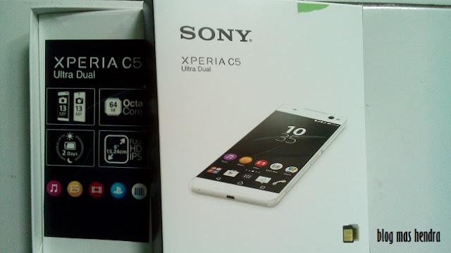 Dus Sony Xperia C5 Ultra Dual - Blog Mas Hendra