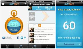 Gympact app for Android