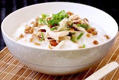 Resepi Bubur Nasi (Bubur Ayam)