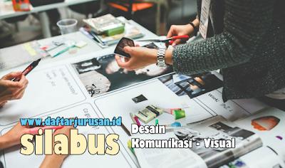 Daftar Silabus / Mata Kuliah Yang Dipelajari Pada Desain Komunikasi Visual
