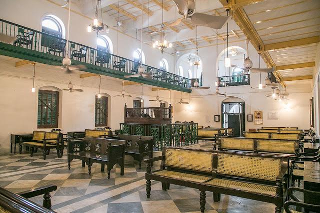 Neveh Shalom Synagogue jews history kolkata calcutta