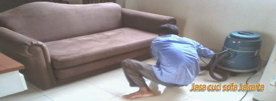 Jasa Cuci Sofa Berpengalaman