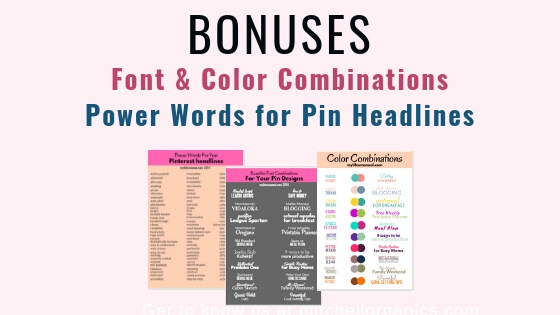 Pinterest pin resources