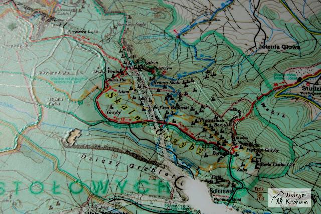 Skalne Grzyby Mapa