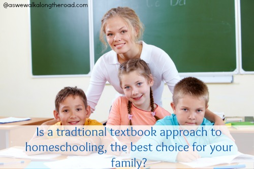 Textbook approach to homeschooling