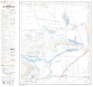 Carte Topographique AL-MANGOUB1989 Morocco 50000 (50k) Topographic map free download